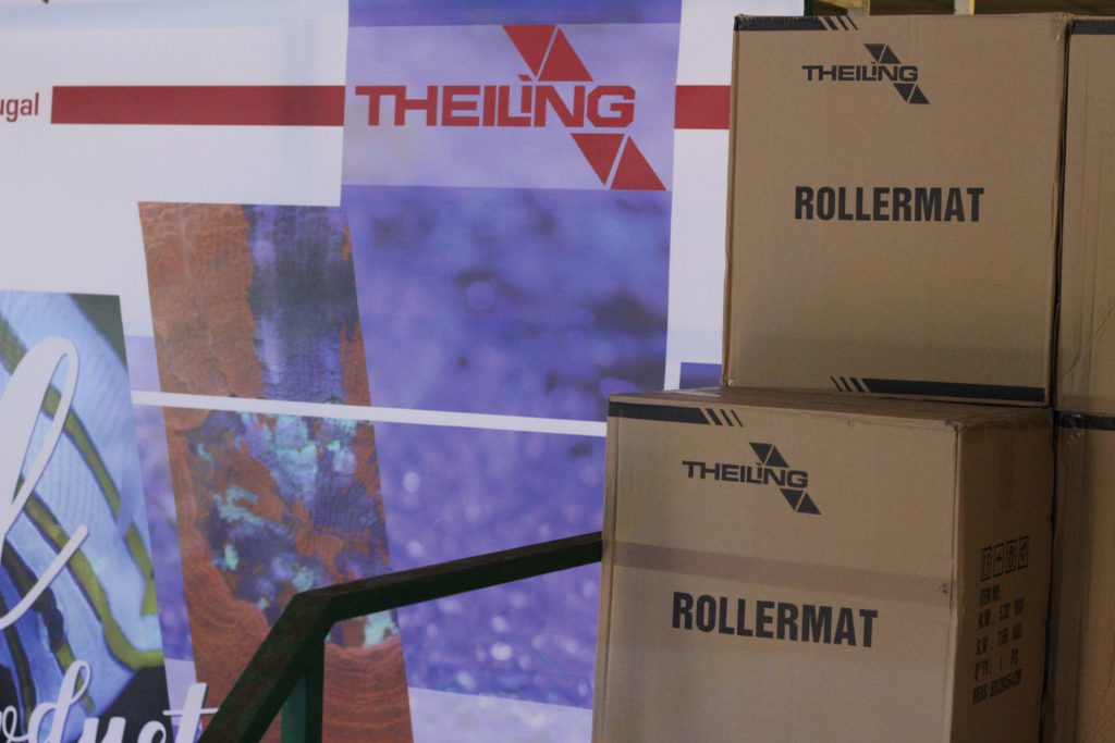 Theiling Rollermat en el almacén de Topical F&P
