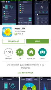 Aqua LED app android